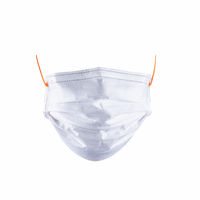 disposable medical mask isolated