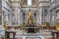 Cappella Sistina in der Basilika Santa Maria Maggiore in Rom in Italien