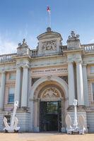 National Maritime Museum in Greenwich, London, UK