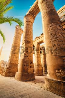 Great columns in Karnak
