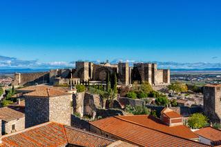 Trujillo Castle. Former Arab Alcazaba. In Trujillo, Extramadura, Spain.