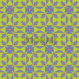 Colliding Triangle Pattern