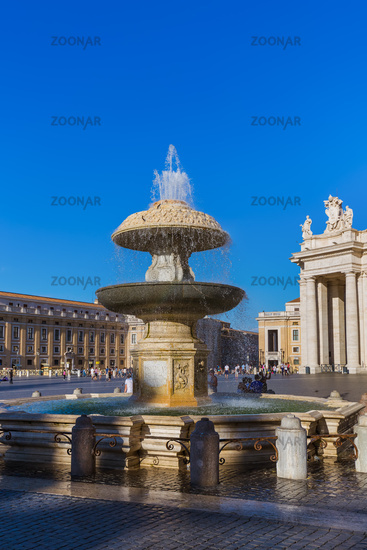 Piazza San Pietro in Vatican - Rome Italy