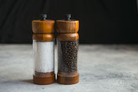 Wooden Salt And Pepper grinder Set