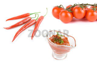 Natural ketchup