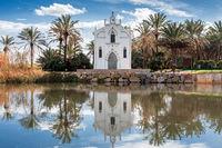 The Ermita dels Peixets chapel in Alboraya, Valencia, Spain