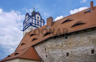 Die Daecher von Schloss Bernburg