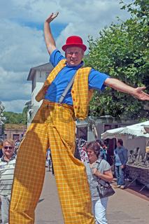 Saarlouis Gaukler Wochenmarkt