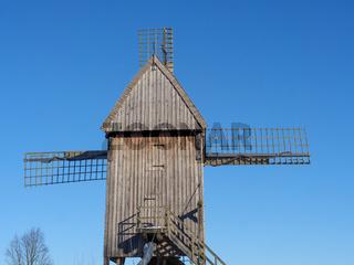 Bockwindmühle im Münsterland