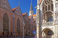 Der Altstadtmarkt in Braunschweig