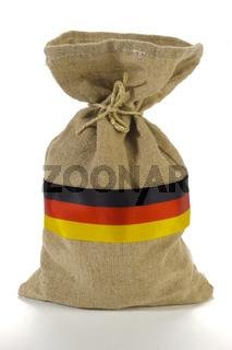 Geldsack aus Deutschland