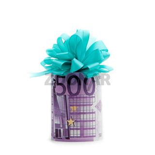 500 euro als Geschenk