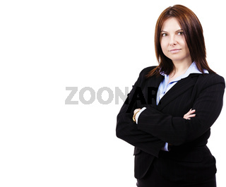 portrait einer business frau
