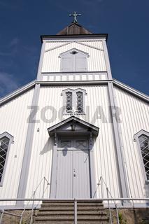 Kirche von Gullholmen in Schweden
