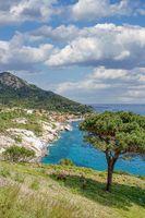 Pomonte,Insel Elba,Toskana,Mittemeer,Italien