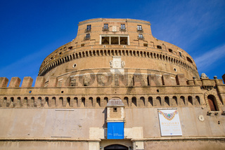 Castel Sant'Angelo, a museum in Rome, Italy