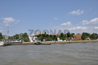 chao phraya river,bangkok,thailand