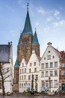 Historical market square, Warendorf, Germany