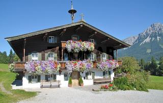 Tiroler Bauernhaus in Ellmau