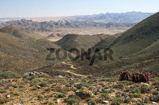 Trockental am Helskloof Pass, Südafrika
