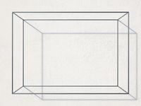 Big rectangular shaped wall rack 3D