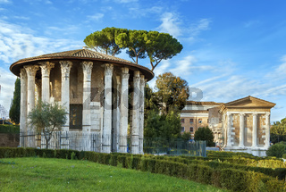 Temple of Hercules Victor, Rome, Italy