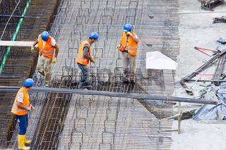 bewehrungsarbeiten, betonstahl