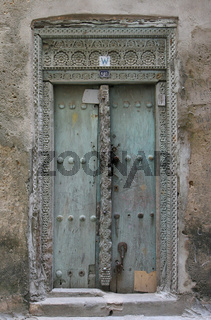Haustuer in Stone Town