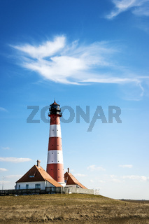 Lighthouse Westerhever Germany