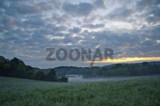 Landschaft bei La Marre, Franche-Comté, France