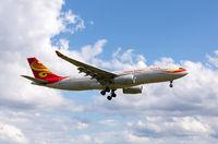 Landeanflug A330