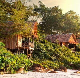 Tropical huts