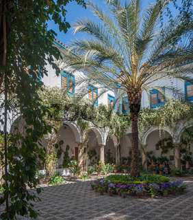 Patio in Cordoba, Andalusia, Spain
