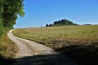Kornbühl mit Salmendinger Kapelle auf der Schwäbischen Alb