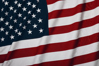 Heavy cotton US American flag background