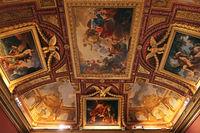 Rome, Galleria Borghese. Hall of Hercules, ceiling decor