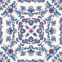 Rosemaling vector pattern 42