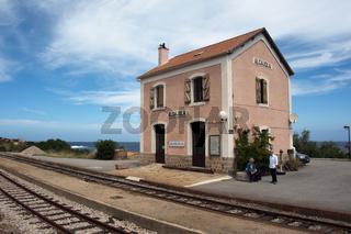 Bahnhof, Algajola