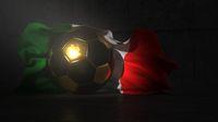 Football Italian Flag