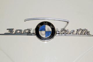 Automobillogo BMW Isetta / Automobile Logo BMW Isetta