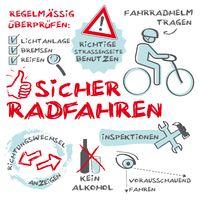 Sicher Radfahren