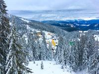 ski resort Carpathians mountains Dragobrat
