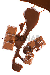 Chocolate abstract background