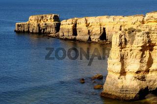 Portugal Algarve Kueste Seismarias