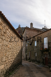 Monsanto historic village stone houses, in Portugal
