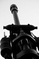 Howitzer artillery detail