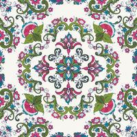 Rosemaling vector pattern 44