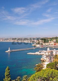 Nizza an der Cote d`Azur