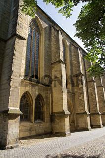 Liebfrauen-Überwasserkirche in Münster, Deutschland