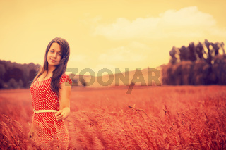 What Dreams May Come. Rural female portrait
